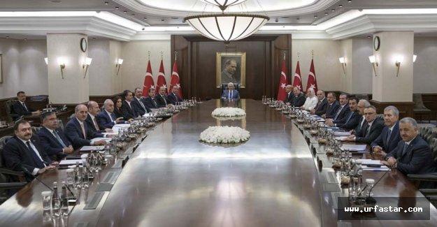 Fakıbaba, ilk kez Bakanlar Kurulu toplantısında