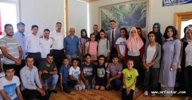 Gençlerden, şehit Direkli'nin ailesine ziyaret