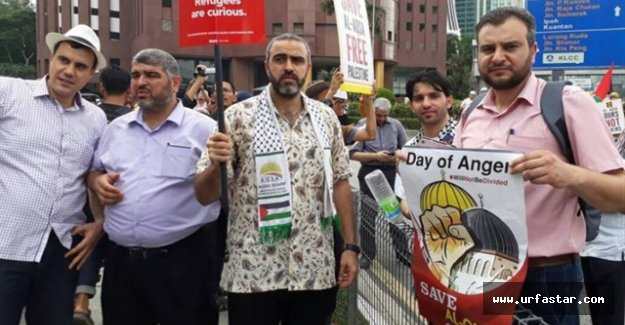İslam dünyası Mescid-i  Aksa için sokakta
