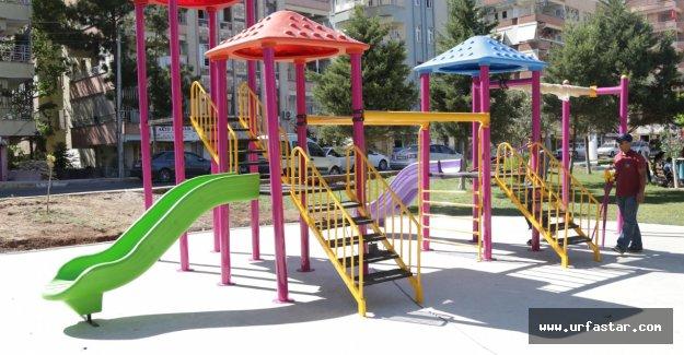 Haliliye'de parklarında yeni düzenleme