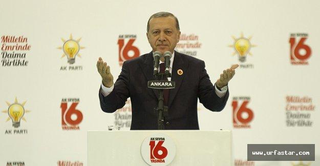 AK Parti'nin 16. yıl dönümü..