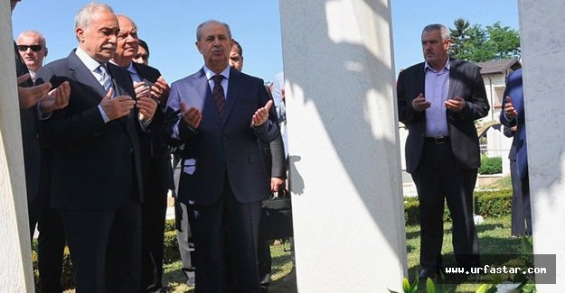 Bakan Fakıbaba Kral'ın kabrini ziyaret etti