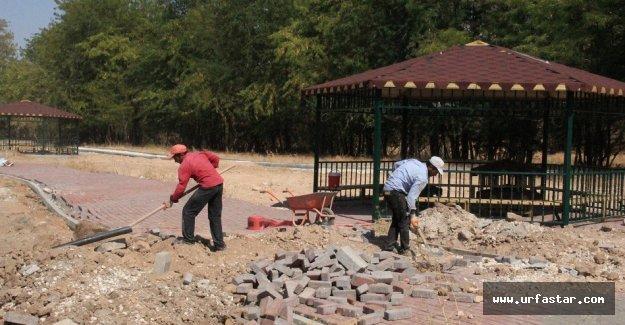 Bozova'da kent park çalışması sürüyor