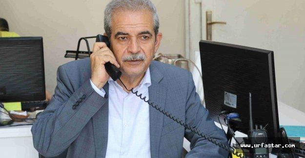 Haliliye Belediyesini arayan Fevzi Başkanla karşılaşıyor