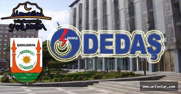 Urfa Büyükşehir'den flaş DEDAŞ açıklaması
