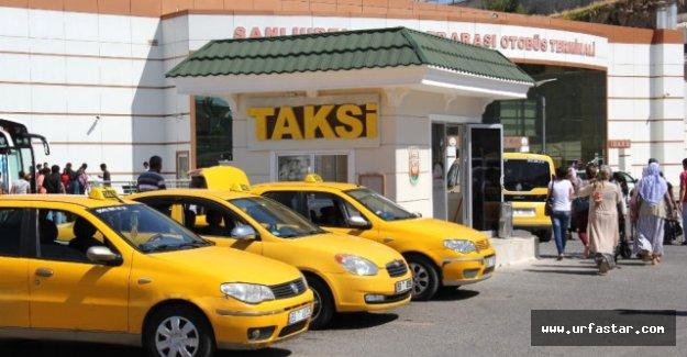 Urfa'da taksi duraklarına tam not (video)