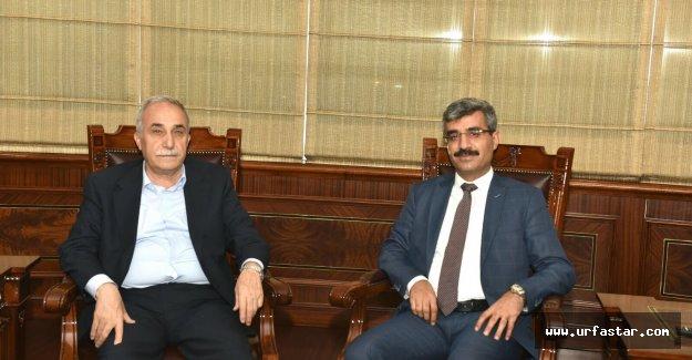 Urfalı Bürokrat'tan Bakan'a ziyaret