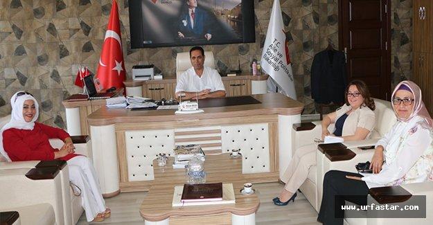 Viranşehir Belediyesi ASPİM'i ziyaret etti