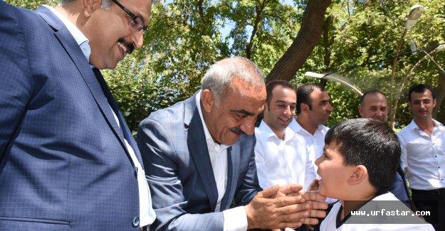 Başkan Bayık, Bayramda Vatandaşlarla Buluştu