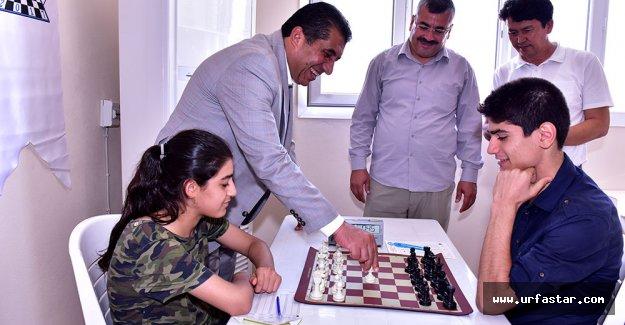 Ceylanpınar'da satranç turnuvası başladı