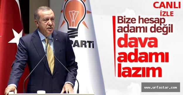 """""""HESAP ADAMI DEĞİL, DAVA ADAMI LAZIM"""""""