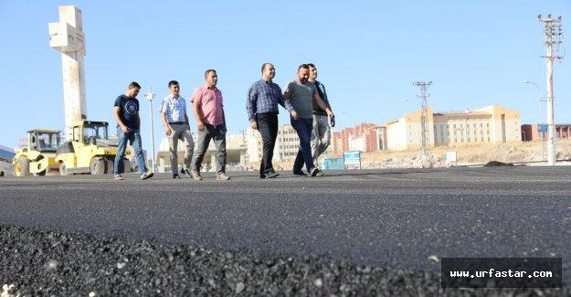 Karaköprü'de çalışmalar devam ediyor