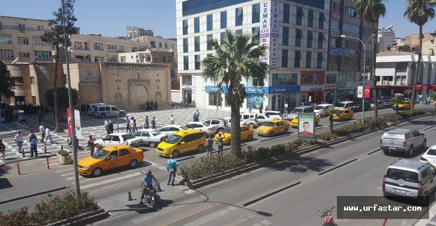 Urfa'da Sarı Eylem...