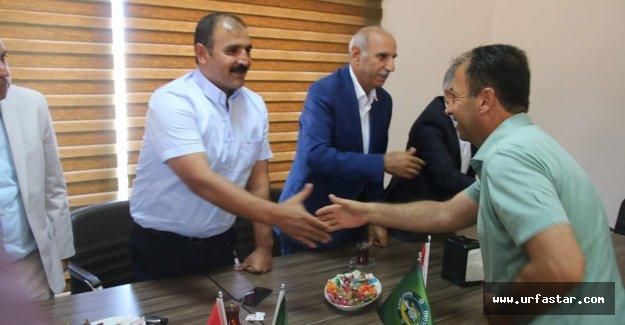 Urfaspor'da bayramlaşma heyecanı
