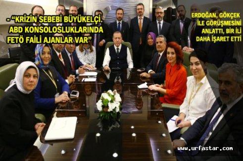 Erdoğan Belediyelerle ilgili konuştu