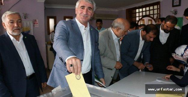 HÜDA Par'da seçim heyecanı yaşandı