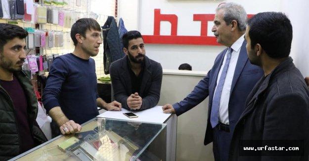 Demirkol, pasaj esnafını ziyaret etti (video)