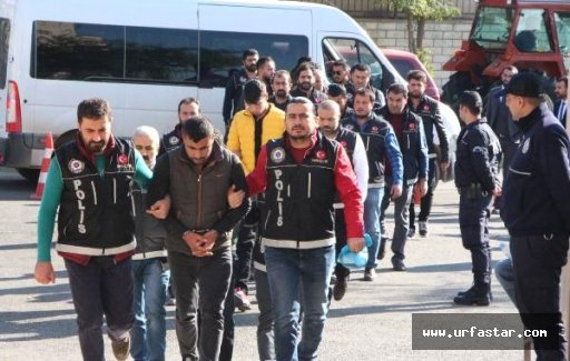 Urfa'da torbacı operasyonu yapıldı