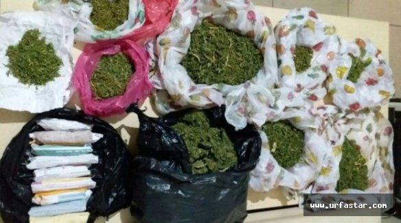 Urfa'da uyuşturucu operasyonu 4 gözaltı
