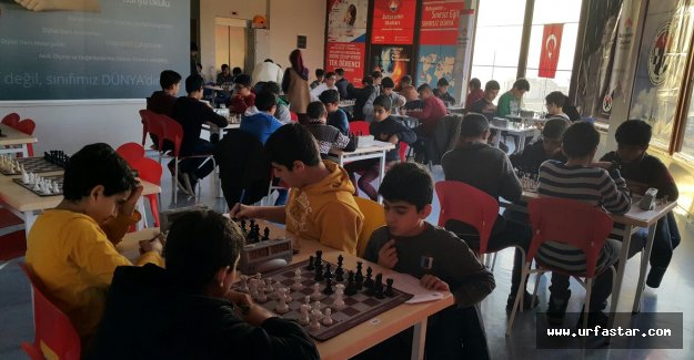 Ceylanpınarlı çocuklar satrançta yarıştı