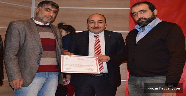 Urfa'da, Suriyeli doktorlara sertifika verildi
