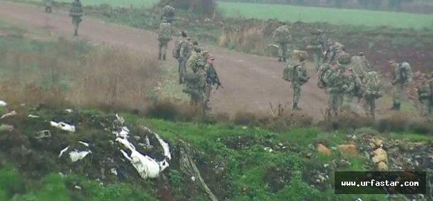 Türk Komandoları sınırda hazır bekliyor
