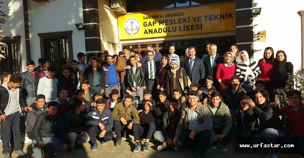 Urfa'da, Ziraat mühendisleri adaylarına danışmanlık eğitimi verdi