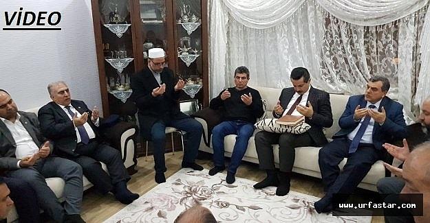 Çelik, Şehit evinde Kur'an-ı Kerim okudu
