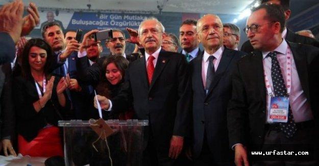 Kılıçdaroğlu tekrar Genel Başkan seçildi