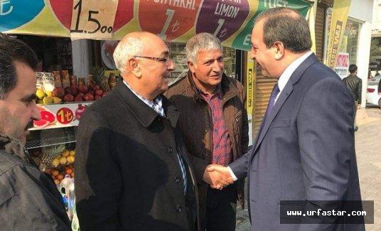 Milletvekili Özcan esnafı gezdi