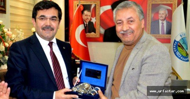 Koca, Başkan Pınarbaşı'nı Ziyaret Etti