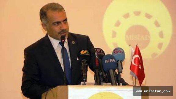 MİSİAD Urfa Başkanı Ömer Ağ, Çiftçi'yi kutladı