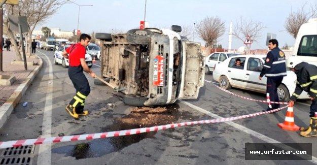 Şanlıurfa'da Minibüs Devrildi: 1 Yaralı