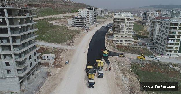 Urfa'ya bir bulvar daha (video)