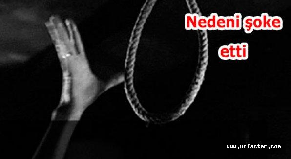 Urfa'da şok intihar…