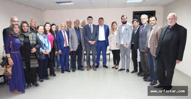 UYGAD üyeleri ve STK'lar Akçakale'ye Çıkarma Yaptı