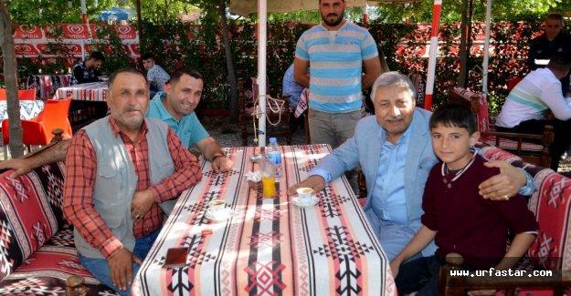 Başkan Pınarbaşı, Birecik Halkıyla kucaklaşıyor
