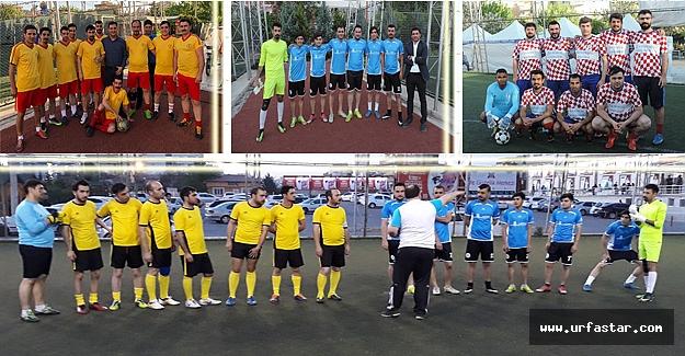 Hastaneler arası futbol turnuvası...