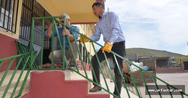 Siverek Belediyesi okullara desteğini sürdürüyor