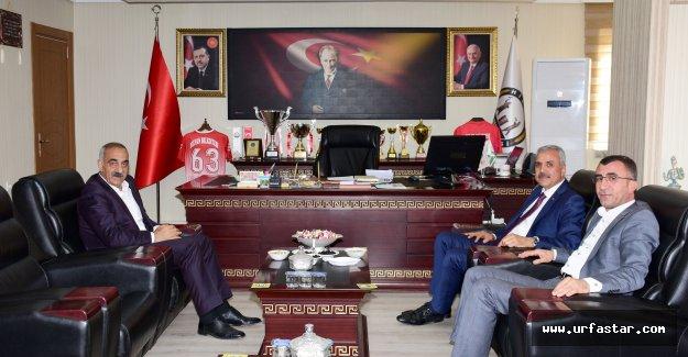 ŞUTSO Başkanı Peltek'ten Bayık'a ziyaret