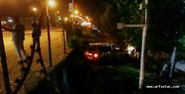 Urfa'da ticari araç kaza yaptı, 4 yaralı