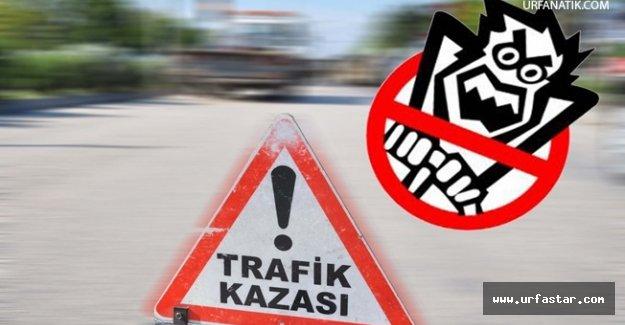 Viranşehir'de kaza 4 yaralı