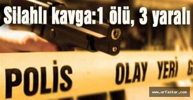 Yine Silahlar Konuştu 1 Ölü 3 Yaralı