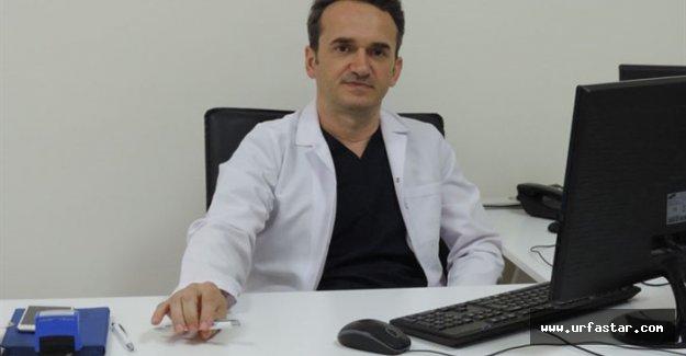 Doktor Çelik yeni hastanesinde göreve başladı
