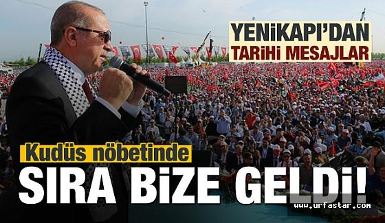 Erdoğan'dan Kudüs için flaş sözler...