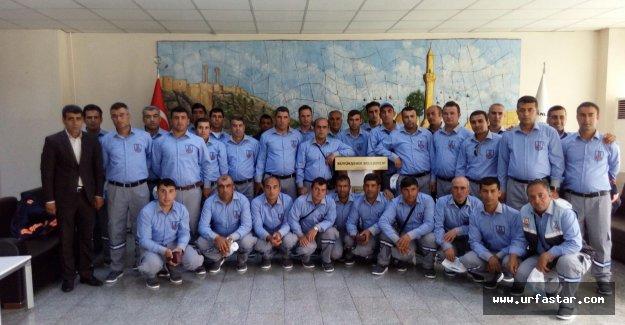 İşçilerin elbise sevinci…