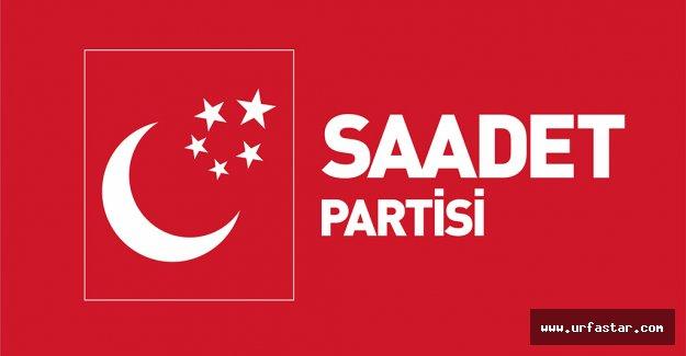 İşte Saadet Partisi'nin Urfa adayları…