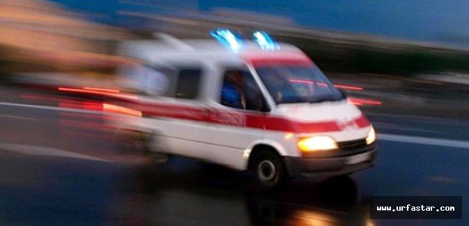 Diyarbakır yolunda iki otomobil çarpıştı