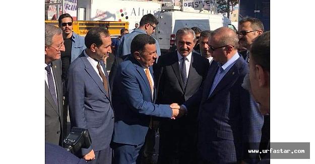 Erdoğan Özyavuz ile görüştü