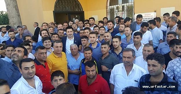 Gençliğin Ağabeyi Yıldız, Erdoğan'ın mesajını Suruçlulara iletti